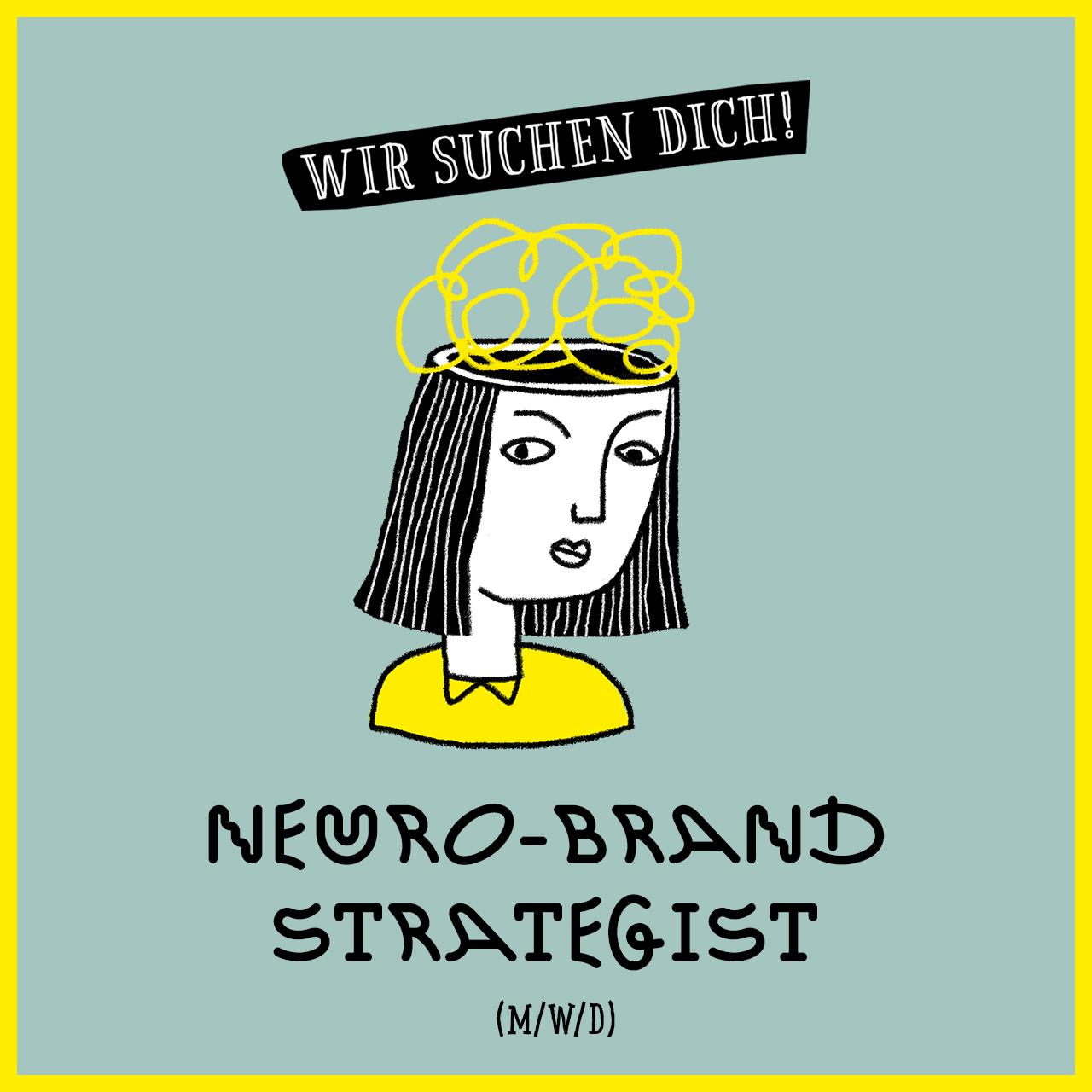 Jobs @ kochstrasse.agency Stellenanzeige / Stellengesuch Neuro-Brand Strategist (m/w/d)