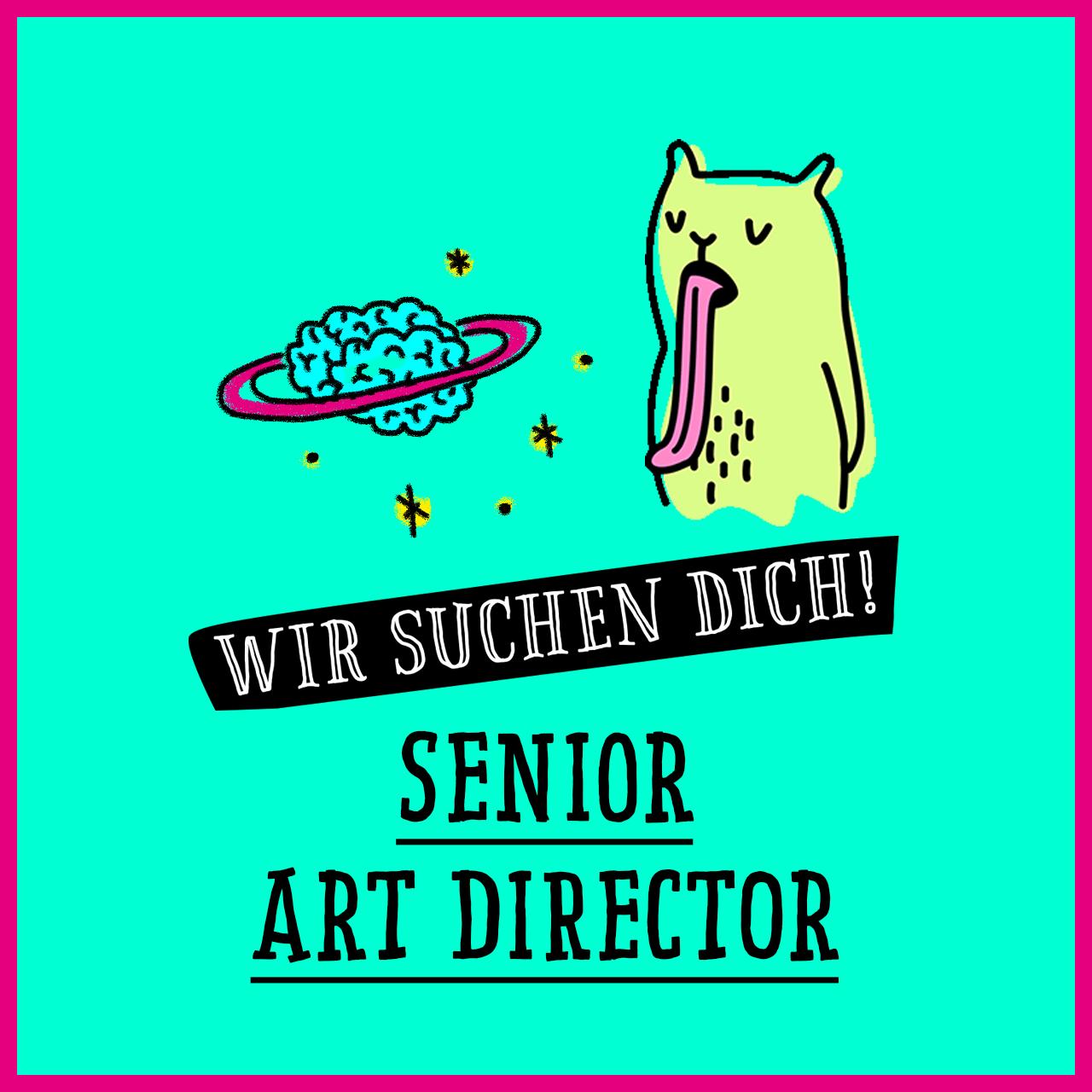 Jobs @ kochstrasse.agency Stellenanzeige / Stellengesuch Senior Art Director (m/w/d)