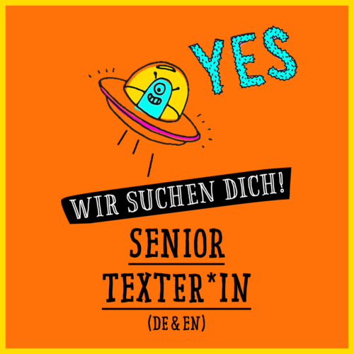Senior Texter*in (m/w/d)