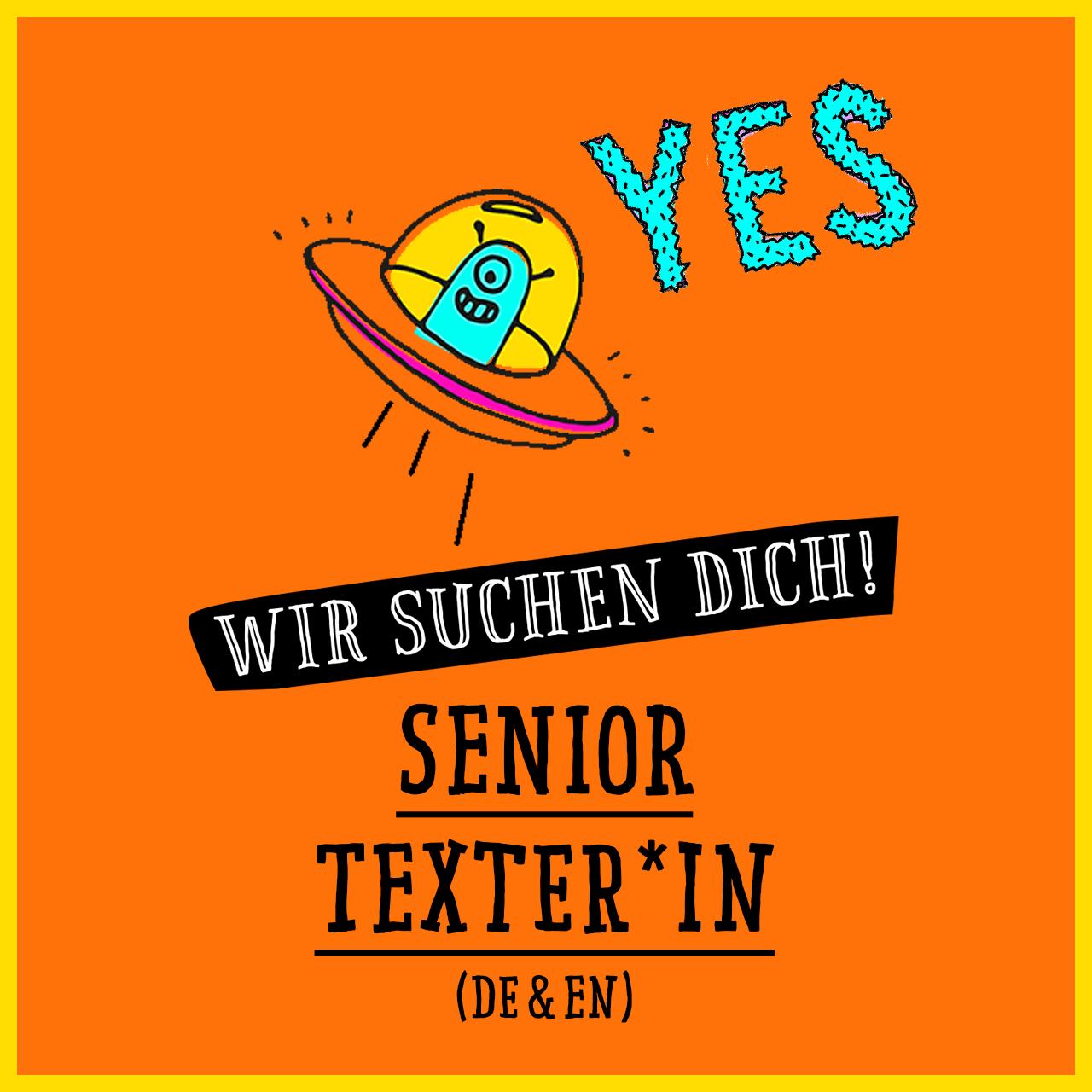 Jobs @ kochstrasse.agency Stellenanzeige / Stellengesuch Senior Texter*in (m/w/d)