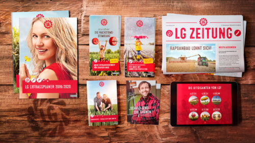 Wächst, blüht, gedeiht: Marketing-Kommunikation LG Seeds