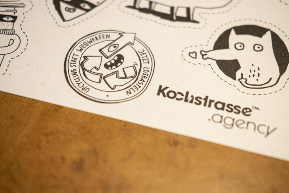 kochstrasse.agency Credentials & Cases – Kochstrasse Agentur für Marken – Upcycling Geschäftspapier