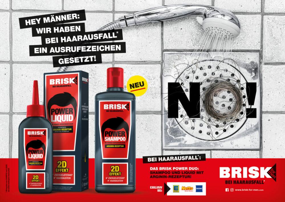 kochstrasse.agency Credentials & Cases – Performance Packaging für BRISK for Men