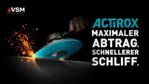 VSM – internationale Launchkampagne Actirox