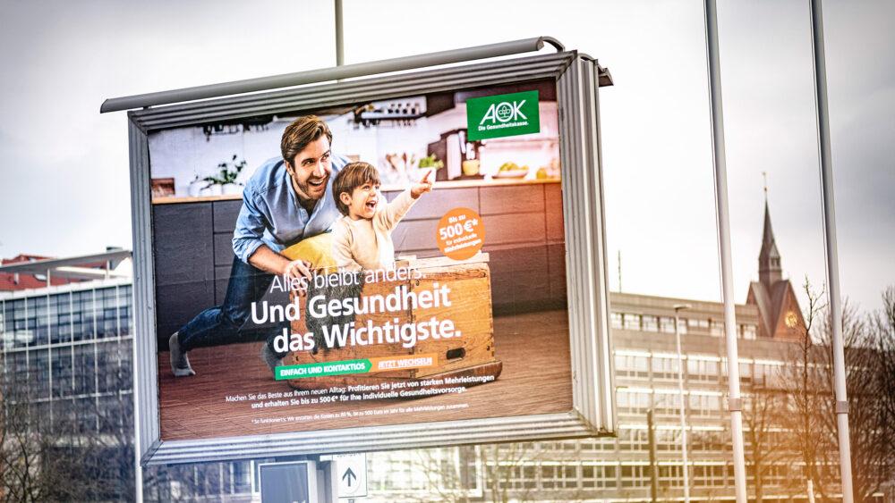 kochstrasse.agency Credentials & Cases – AOK Niedersachsen – Alles bleibt anders. Und Gesundheit das Wichtigste. – Persona spezifische Omni-Channel-Wechselkampagne im Zeitgeist.