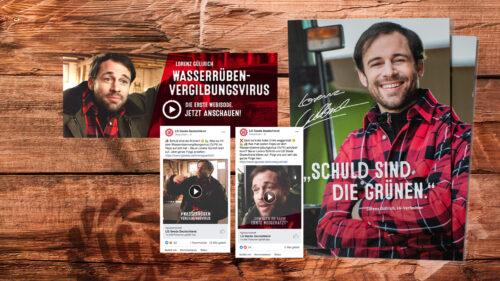 B2B-Webisode Lorenz Güllrich für Limagrain