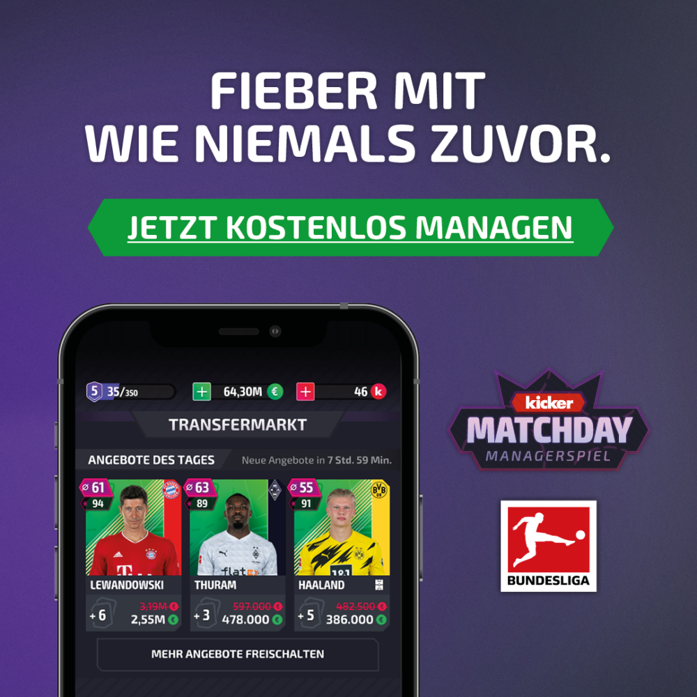 kochstrasse.agency Credentials & Cases – kicker MatchDay – Performance Kampagne
