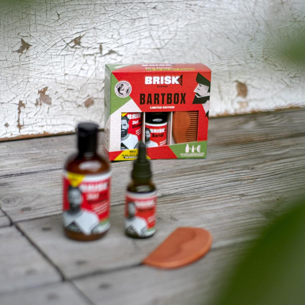 kochstrasse.agency Credentials & Cases – Packaging Design für BRISK for Men