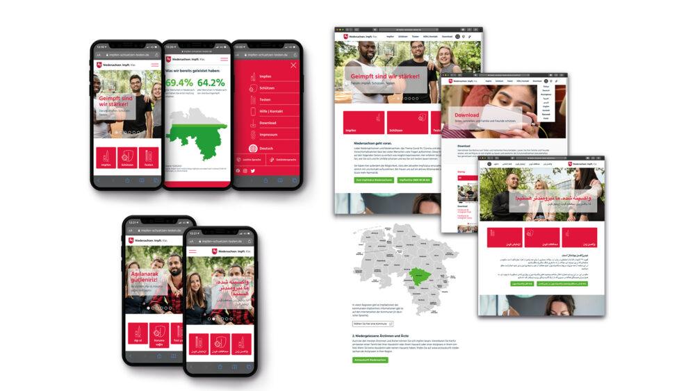 kochstrasse.agency Credentials & Cases – Niedersächsisches Ministerium für Soziales, Gesundheit und Gleichstellung – Corona-Schutzimpfungskampagne 2021